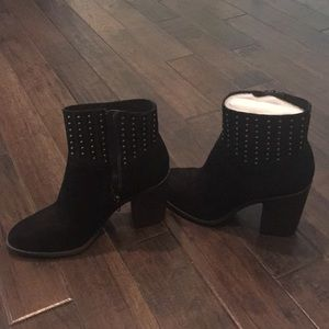 Lucky Brand Shoes - New Lucky velvet boots with studs size 8 1/2
